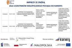 Harmonogram działań w ramach OTK 2011 w Małopolsce